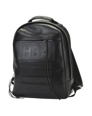 Рюкзаки и сумки на пояс HBA HOOD BY AIR. Цвет: черный