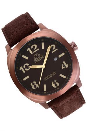 Часы Kappa. Цвет: розовый, коричневый