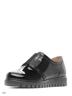 Туфли ЭГО. Цвет: черный