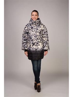 Куртка OSTRICH. Цвет: серебристый, сиреневый