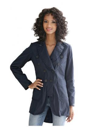 Пальто Linea Tesini. Цвет: темно-синий