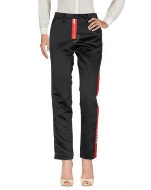 Повседневные брюки BROGNANO. Цвет: черный