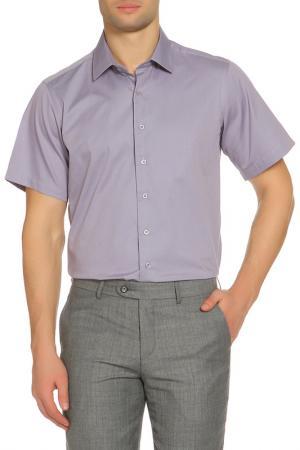Рубашка Karflorens. Цвет: бледно-сиреневый