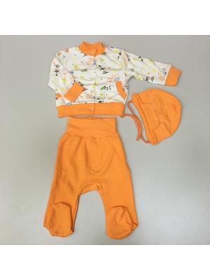 Комплект детский Веснушка. Цвет: оранжевый