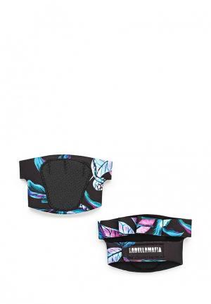 Перчатки для фитнеса Labellamafia. Цвет: черный
