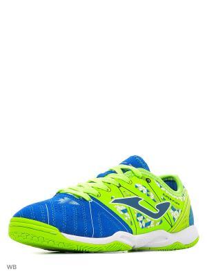 Футзальная Обувь  Super Flex Joma. Цвет: синий, зеленый