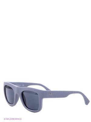 Очки солнцезащитные Emporio Armani. Цвет: серый