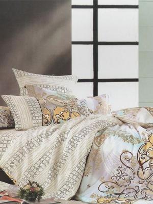Комплект постельного белья, Шарль , 1.5 спальный KAZANOV.A.. Цвет: молочный