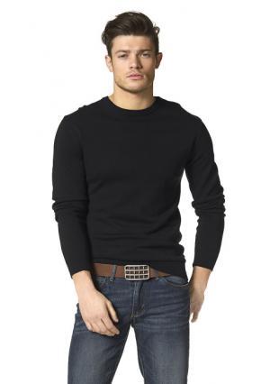Пуловер JOHN DEVIN. Цвет: светло-серый меланжевый, темно-серый меланжевый