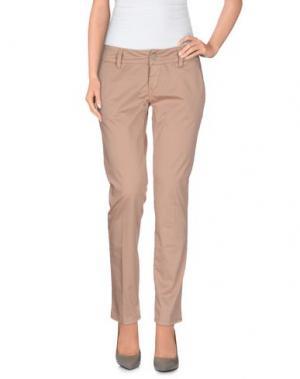 Повседневные брюки 2W2M. Цвет: телесный