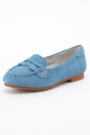 Туфли Vitacci. Цвет: голубой