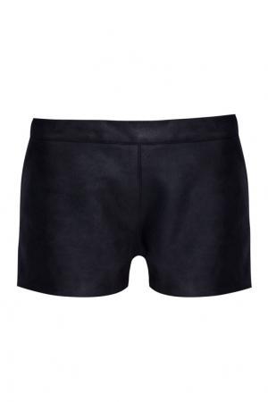 Кожаные шорты Gareth Pugh. Цвет: черный