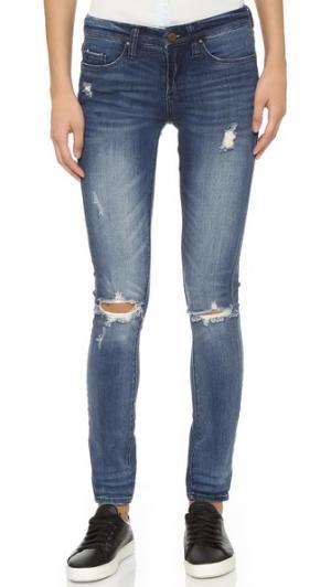 Классические джинсы-скинни Blank Denim. Цвет: the hard way