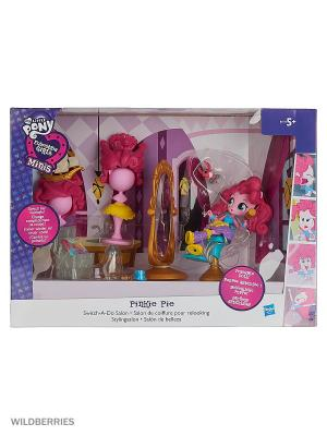 Игровой набор My Little Pony Hasbro. Цвет: розовый, желтый, голубой, фиолетовый
