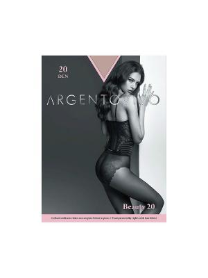 Колготки Beauty 20 Argentovivo. Цвет: бежевый
