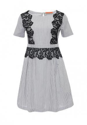 Платье Imperial. Цвет: серый