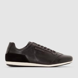 Кроссовки комбинированные Batoula REDSKINS. Цвет: черный/черный лак