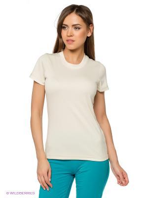 Футболка W Cafe Base New Elsa T-Shirt Northland Professional. Цвет: молочный
