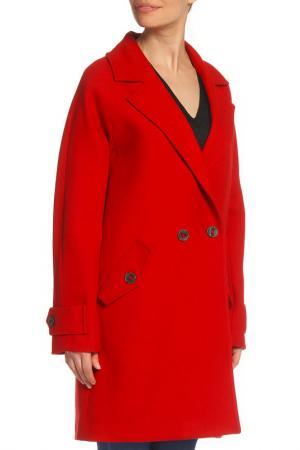 Пальто SFIZIO. Цвет: красный