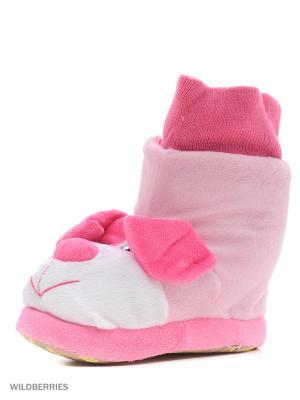 Обувь домашняя Effa. Цвет: бордовый