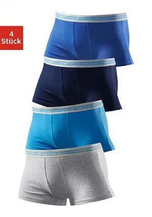Боксеры, Authentic Underwear Le Jogger (4 пары). Цвет: набор 2
