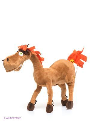 Мягкая игрушка Конь Юлий Мульти-пульти. Цвет: коричневый