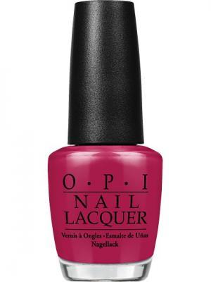 Opi Лак для ногтей BOGOTA BLACKBERRY, 15 мл. Цвет: темно-бордовый, бордовый