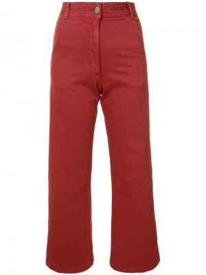 Укороченные брюки Rachel Comey. Цвет: красный