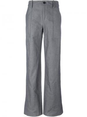 Широкие брюки Société Anonyme. Цвет: серый