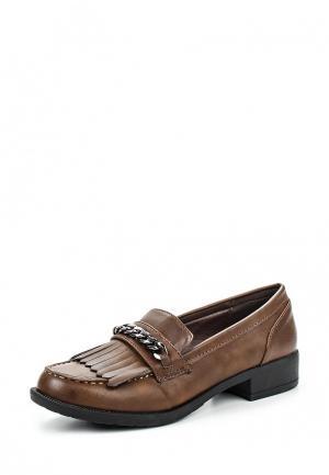 Туфли Damerose. Цвет: коричневый