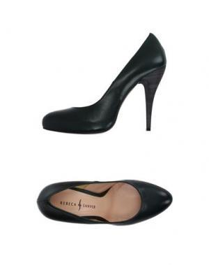 Туфли REBECA SANVER. Цвет: темно-зеленый