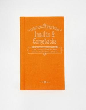 Books Книга Insults and Comebacks. Цвет: мульти