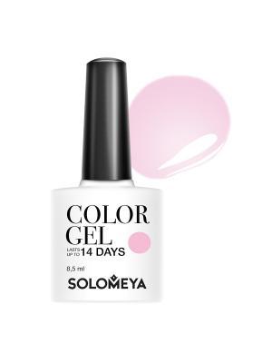 Гель-лак Color Gel Charlene SCGK032/Шарлин SOLOMEYA. Цвет: бледно-розовый