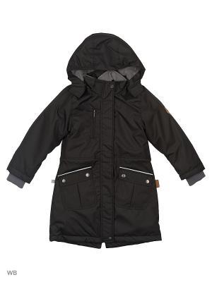 Пальто HUPPA. Цвет: черный