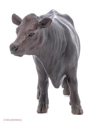 Корова Черный Ангус SCHLEICH. Цвет: серый