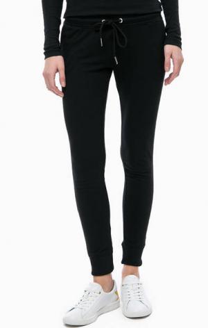 Черные брюки джоггеры ALCOTT. Цвет: черный