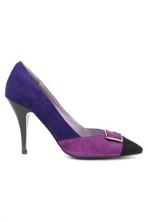 Туфли Dino Ricci. Цвет: фиолетовый,черный