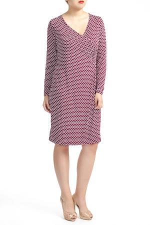 Платье SHEEGO. Цвет: purple and white