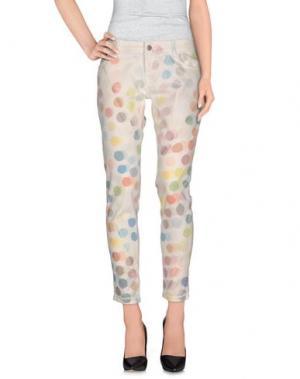 Повседневные брюки CAROLINA WYSER. Цвет: белый