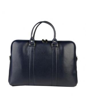 Деловые сумки GIUDI. Цвет: темно-синий