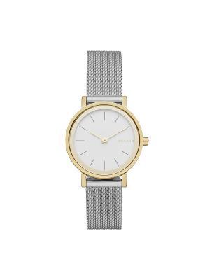 Часы SKAGEN. Цвет: белый, серебристый, золотистый, желтый