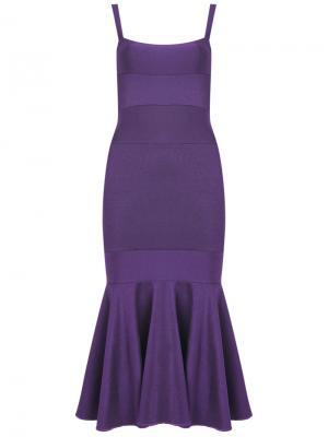 Knit midi dress Cecilia Prado. Цвет: розовый и фиолетовый