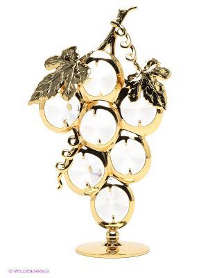 Фигурка Гроздь винограда Юнион. Цвет: золотистый, прозрачный
