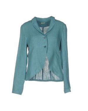 Пиджак A.B APUNTOB. Цвет: бирюзовый