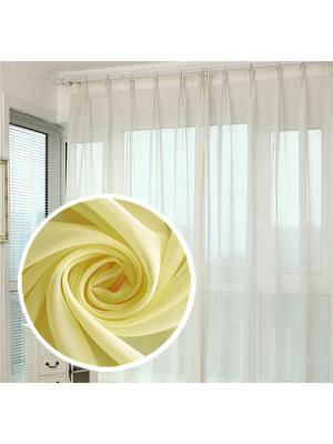 Вуаль Amore Mio однотонная 600*290 см - 1 шт. Желтый. Цвет: желтый