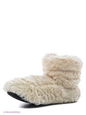 Сапожки-грелки Cozy Body Warmies. Цвет: молочный
