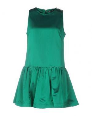 Короткое платье NINEMINUTES. Цвет: зеленый