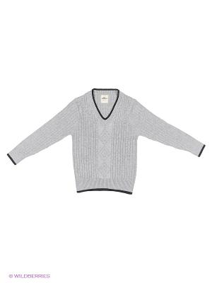 Пуловер Cascatto. Цвет: серебристый, сиреневый, серо-зеленый