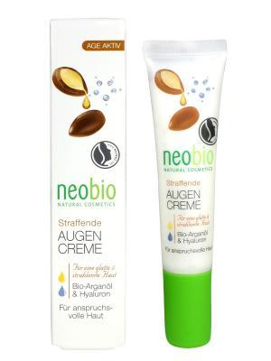 Neobio разглаживающий крем вокруг глаз. Цвет: белый