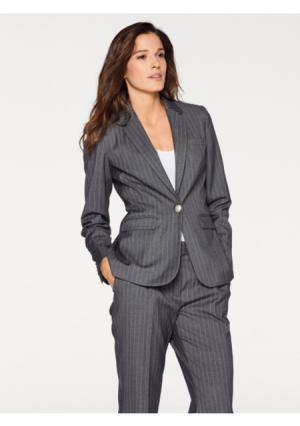 Пиджак PATRIZIA DINI by Heine. Цвет: серый меланжевый